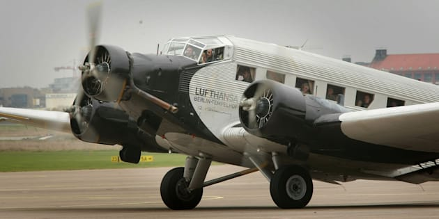 Un avion Junkers Ju 52 à Berlin