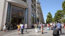 Le magasin Louis Vuitton des Champs-Élysées braqué par un homme
