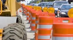 Les PME sont très affectées par les travaux routiers, selon une