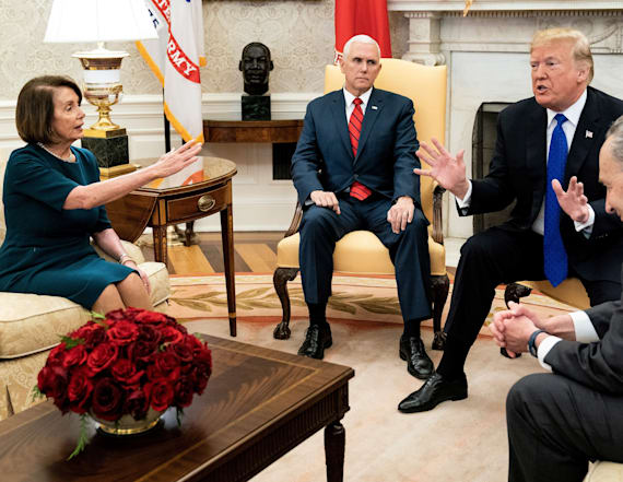 Pelosi insults Trump's 'manhood' after wild meeting
