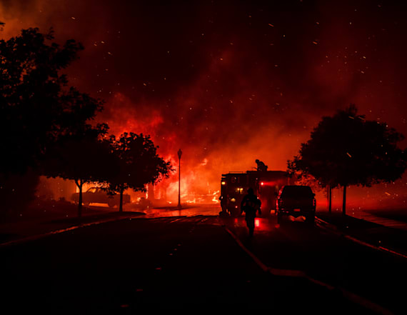 2 new wildfires break out in California