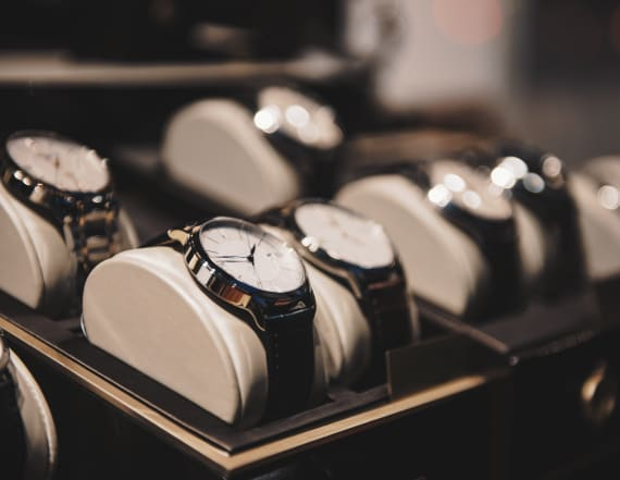 This stunning timepiece makes the perfect gift