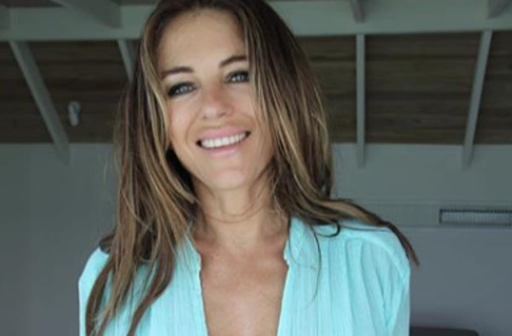 "cb57c888ce3 Elizabeth Hurley is gearing up to celebrate a ""hot Christmas."" And  naturally, it includes a bikini. The 53-year-old actress and model took to  her Twitter ..."