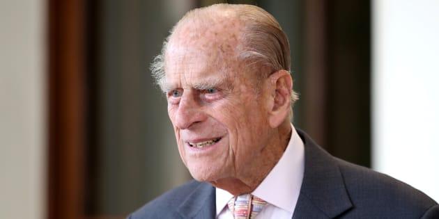 Le Prince Philip à Londres le 14 juillet.