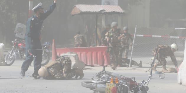 Double attentat de l'EI à Kaboul : au moins 25 morts dont un photographe de l'AFP