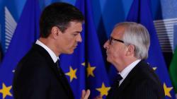 Juncker responde a Sánchez que los fondos para frenar la inmigración