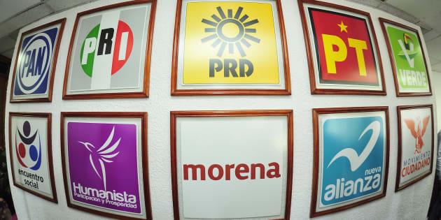 El partido más ganón es el PRI con tres mil 133 millones.