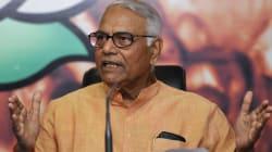 Senior BJP Leader Yashwant Sinha Derides 'Superman' Arun Jaitley For 'Making A Mess' Of Indian