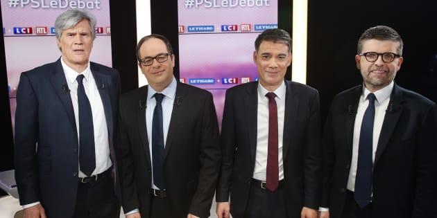 Stéphane Le Foll, Emmanuel Maurel, Olivier Faure et Luc Carvounas s'affrontent pour diriger le PS.