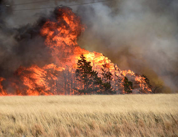 Rain offers temporary relief from raging wildfires