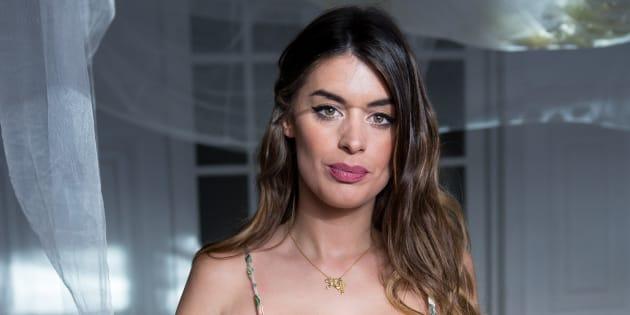 Dulceida en una sesión de fotos publicitaria en abril de 2018.