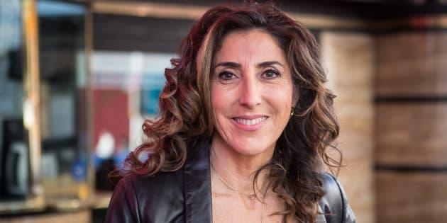 Paz Padilla en la presentación de la obra de teatro 'Desatadas' en diciembre de 2017.