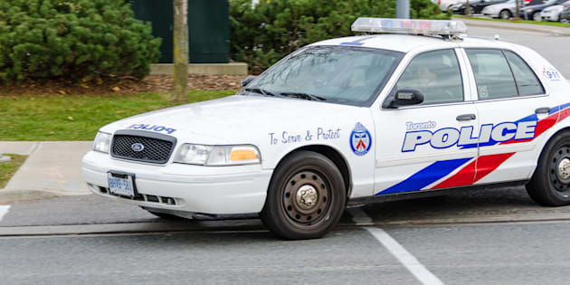 A Toronto police car is shown in 2013.