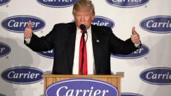 ¿Se acuerdan del acuerdo de Trump con Carrier? Resultó ser una