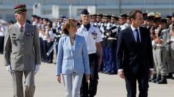 Macron à Istres pour rassurer les militaires, avec son nouveau chef