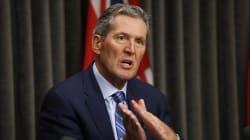 Le premier ministre du Manitoba se blesse durant des vacances au