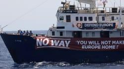Le navire anti-migrants met fin à sa