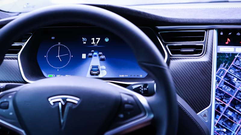 Tesla reshuffles its Autopilot self-driving team