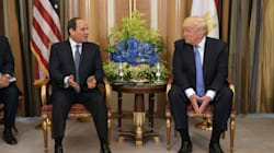 Trump sull'Egitto dà lezioni