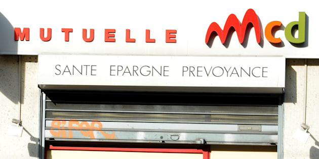 Une agence de la mutuelle MCD à Marseille. AFP PHOTO / GERARD JULIEN / AFP PHOTO / GERARD JULIEN