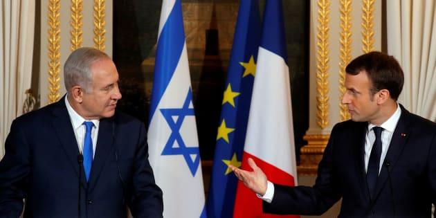 Le premier ministre israélien Benjamin Netanyahu est en visite à Paris pour rencontrer le président français Emmanuel Macron.