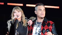 Robbie Williams Surprises Taylor Swift Fans By Joining Her On Stage For 'Angels'