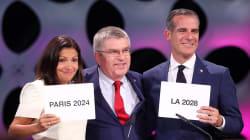 París organizará los Juegos Olímpicos de 2024 y Los Ángeles los de