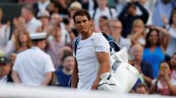 Nadal éliminé dès les 8e à Wimbledon après un match