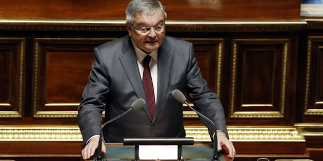 Michel Mercier au Sénat en mars 2016.