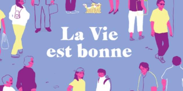 """""""La Vie est bonne"""" est la première BD de """"Violente Viande"""" et """"Lucy Macaroni""""."""
