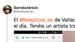 El pedido a un Telepizza de Valladolid que ya ha hecho reír a miles de