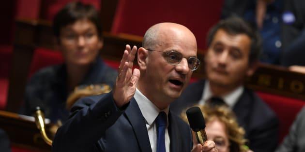 Jean-Michel Blanquer à l'Assemblée nationale en novembre 2017.