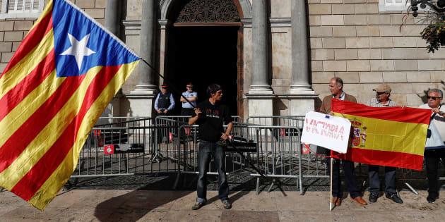 On peut s'attendre sans doute aussi à ce que les États européens ne veuillent pas inclure au départ la Catalogne dans l'Union européenne.