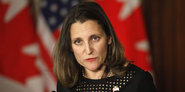 Chrystia Freeland.