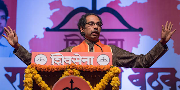 File photo of Shiv Sena chief Uddhav Thackeray.
