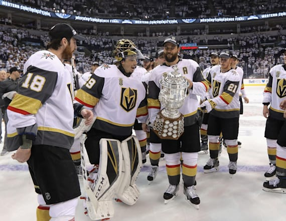 Golden Knights beat Jets, reach Stanley Cup Finals