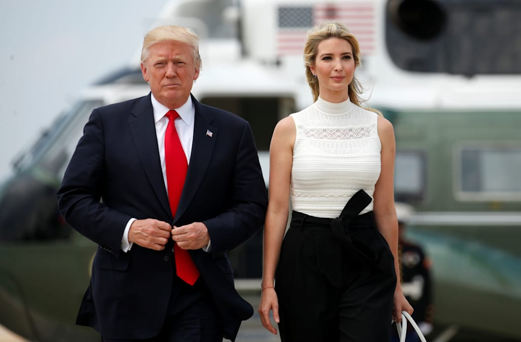 ivanka trump on president trumps tweeting i try to stay