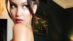 Bella Hadid tente la timidité (nue) à