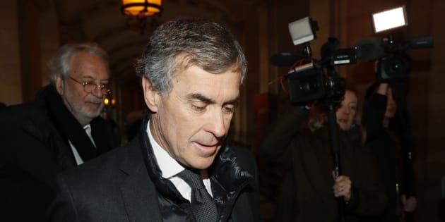Jérôme Cahuzac à Paris le 8 décembre 2016.