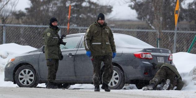 """Fusillade au Québec: un seul suspect présumé, l'autre entendu comme """"témoin"""""""