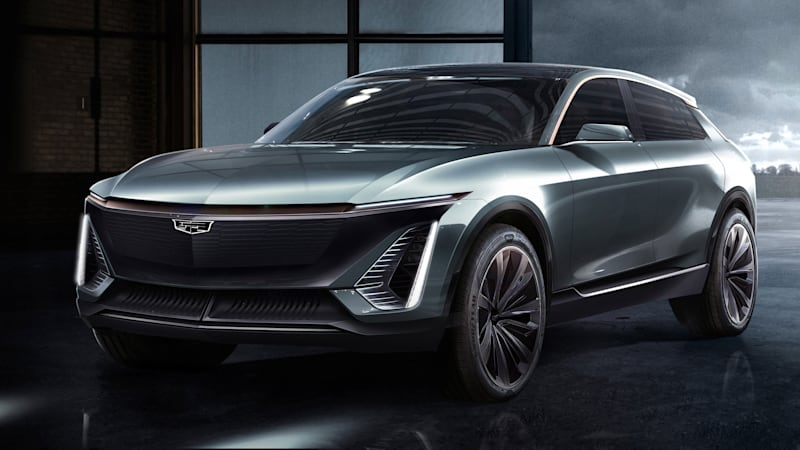 Futuristic Cadillac Ev Crossover Revealed To Preview Production