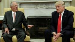 Trump recibe al primer presidente latinoamericano,