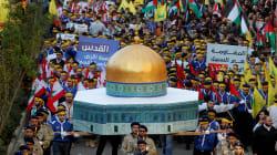 Jérusalem: des milliers de partisans du Hezbollah protestent à