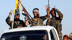 ISの「首都」ラッカ陥落 クルド人勢力が解放