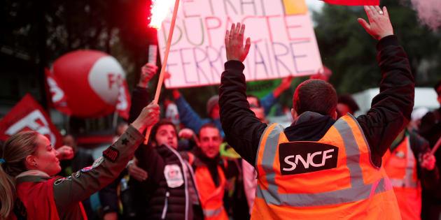 Réforme SNCF: 2 Français sur 3 veulent que le gouvernement aille jusqu'au bout.