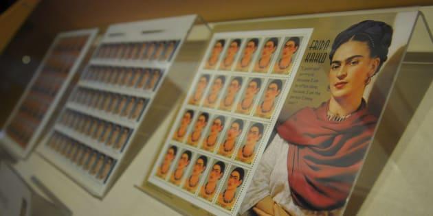 """Inauguración de la muestra """"Ecos de tinta y papel. De la intimidad de Frida Kahlo"""" en el museo Casa Estudio Diego Rivera y Frida Kahlo de San Ángel."""