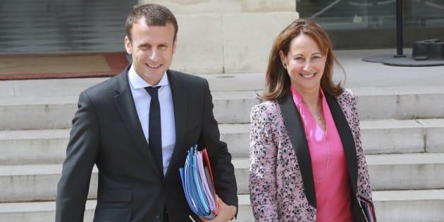 Ségolène Royal fait des révélations embarrassantes concernant Valls — Emmanuel Macron