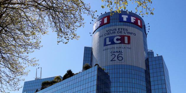 Le siège de TF1 à Boulogne-Billancourt, près de Paris.
