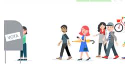 Este es el granito de arena que pondrá Google para las elecciones de