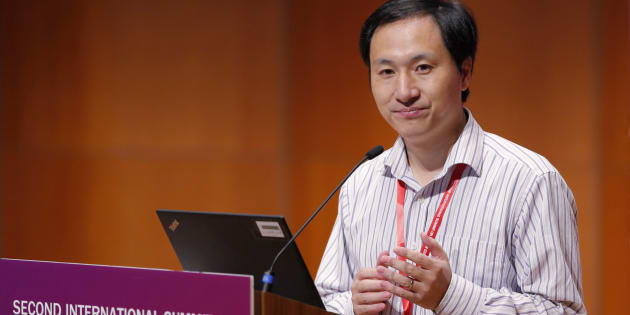 Le scientifique He Jiankui.